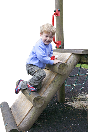 Pre-school climbing frame